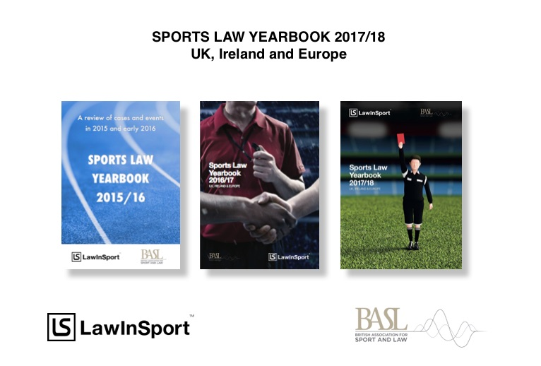 Sport law yearbook title image 2015 18